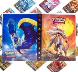 Álbum Pokémon + 100 Cartas Originais Em Português