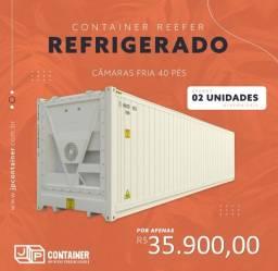 Container Reefer de 40 pês (pronta entrega)