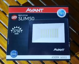 Refletor Slim avant 50w - novo na caixa
