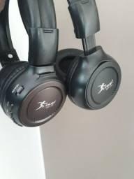 Headfone com Rádio e MP3