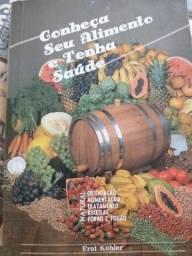 Livro sobre alimentação saudavel