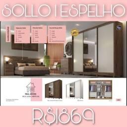 Roupeiro Solo / Espelho