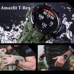 Amazfit T-Rex camuflado/Preto