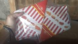 Embalagens Cone p/ batata frita ou frango frito (700 unidades)