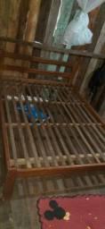 Cama de madeira barato