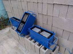 Forma de bloco de concreto!