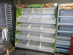 Expositor de legumes para Hotfruti