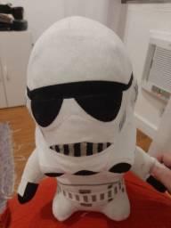 Star wars storm trooper em Pelúcia