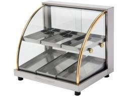 Estufa para salgados TAMANHO (GRANDE) com 06 compartimentos (Divisória)