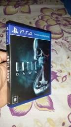 Until dawn ps4 novo sem arranhões