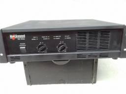 Amplificador de potência 2000 RMS 2 ohms Troco