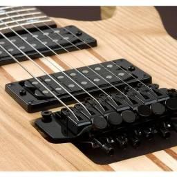 Regulagem em guitarras de micro afinação na Musical Brother