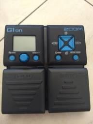 Pedaleira multi-efeitos Zoom G1on