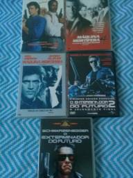 DVDs anos 80 e 90