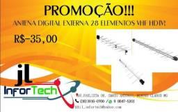 Antena Digital Externa HDTV