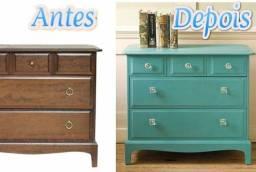 Pintura de móveis, laqueação, pátina, verniz e restauro