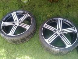 Roda 19 com pneus