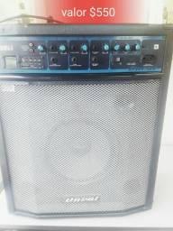 Caixa amplificada oneal OCM 460