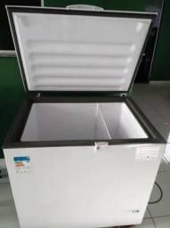 Freezer horizontal semi novo na garantia