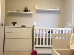 Berço para bebê - vira mini cama -Linha Victoria Quater