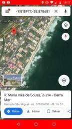 Oportunidade única, terreno 10x35mt em Barra Mar 1-Barra de São Miguel,AL