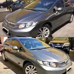 Civic LXS 1.8 Flex 2012/12. Vendo ou Troco - 2012