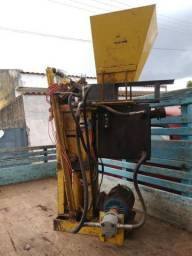 Prensa hidráulica tijolo ecológico