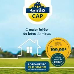 Lotes em Santo Antônio do Amparo, à partir de 200m²