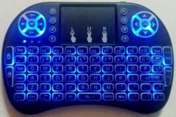 Mini teclado USB sem fio