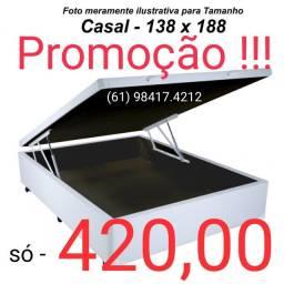 Mega promoção cama baú !!!! Em 12x s/juros # direto de fábrica !!