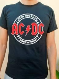 Camiseta Banda, ROCK, METAL  ACDC High Voltage
