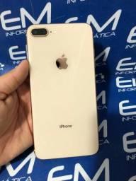 IPhone 8 Plus 64Gb Gold - Seminovo - com nota e garantia, somos loja fisica