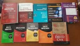 Livros de direito e para concursos