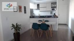 Apartamento com 2 dormitórios para alugar, 60 m² por R$ 2.000/mês - Ponte Grande - Guarulh