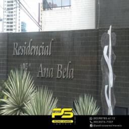 Apartamento com 4 dormitórios à venda, 215 m² por R$ 850.000,00 - Manaíra - João Pessoa/PB