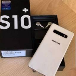 S10 plus 128gb com 4 dias de uso com caixa nf e 1 ano de garantia
