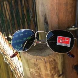 Óculos Ray-Ban® Hexagonal em Promoção