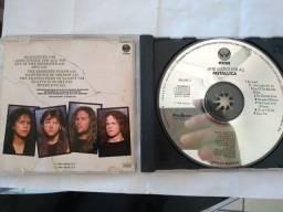 Vendo 3 CDs do conjunto metallica