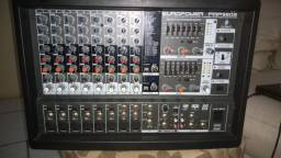 Mesa Beringer Amplificada, dois em um