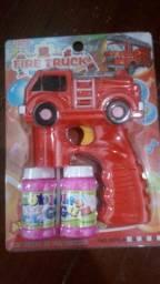 Pistola de bolhas de sabão
