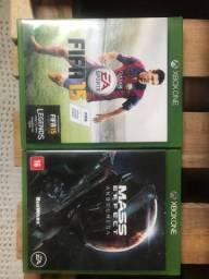 Vende-se jogos de Xbox one
