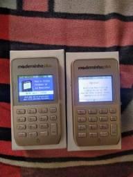 Moderninha plus, aceita auxilio, qr code, nfc, dinheiro cai na hora!