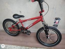 Bicicleta aro 20 Cross Wendy folha aero cubo roletado Suspensão Praticamente Nova