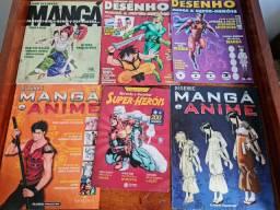 Kit revistas cursos de desenho