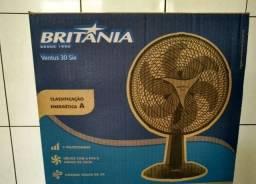Ventilador Britânia novo desmontado na caixa