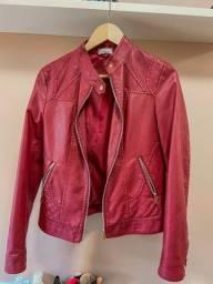 Jaqueta de courino vermelha marca BARRED?S