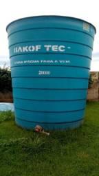 Caixa d'agua com tampa 20.000 lts