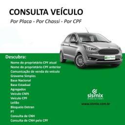 Consulta Veículo por CPF, Placa ou Chassi