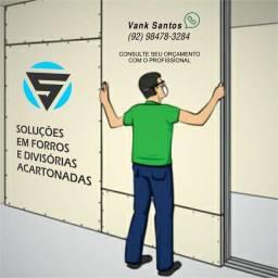DIVISÓRIA ACARTONADO & FORRO