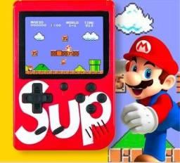 Mini Video Game Portátil com 400 Jogos Clássicos Do Super Nintendo
